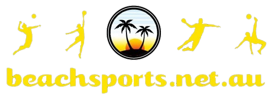 Beach Sports – Brisbane Beach Volleyball Logo